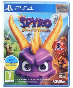 Spyro Reignited Trilogy (PS4) (Російська версія)