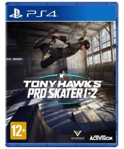 Tony Hawk's Pro Skater 1 + 2 (PS4/PS5) (Англійська версія)Tony Hawk's Pro Skater 1 + 2 (PS4/PS5) (Англійська версія)