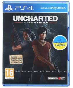 Uncharted: The Lost Legacy (Uncharted:Утраченное наследие) (PS4) (Русская версия)