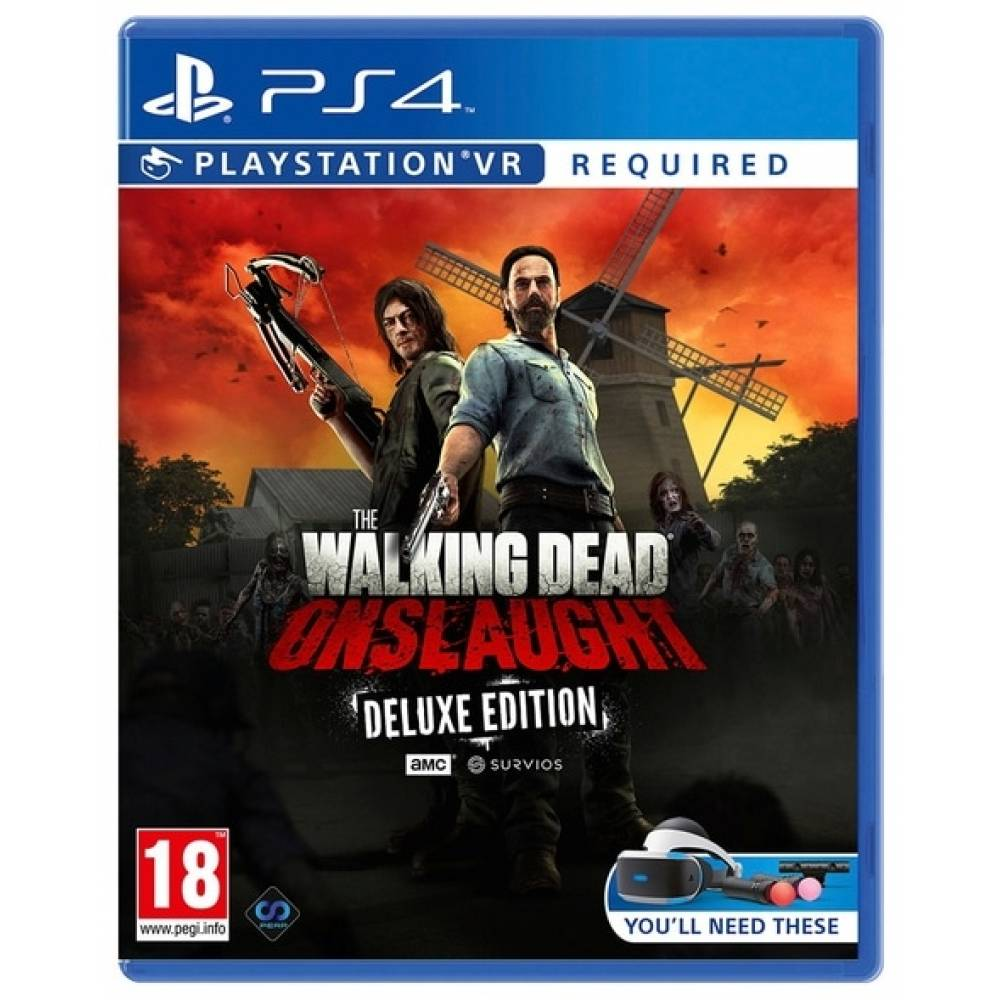The Walking Dead Onslaught (PS4/PS5) (Англійська версія) (The Walking Dead Onslaught (PS4/PS5) (EN)) фото 2
