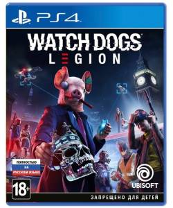 Watch Dogs: Legion (PS4/PS5) (Русские субтитры)