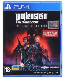 Wolfenstein: Youngblood Deluxe Edition (PS4/PS5) (Русская озвучка)