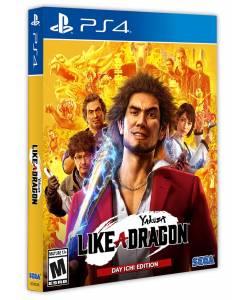 Yakuza: Like a Dragon. Day Ichi Steelbook Edition (PS4/PS5) (Английская версия)