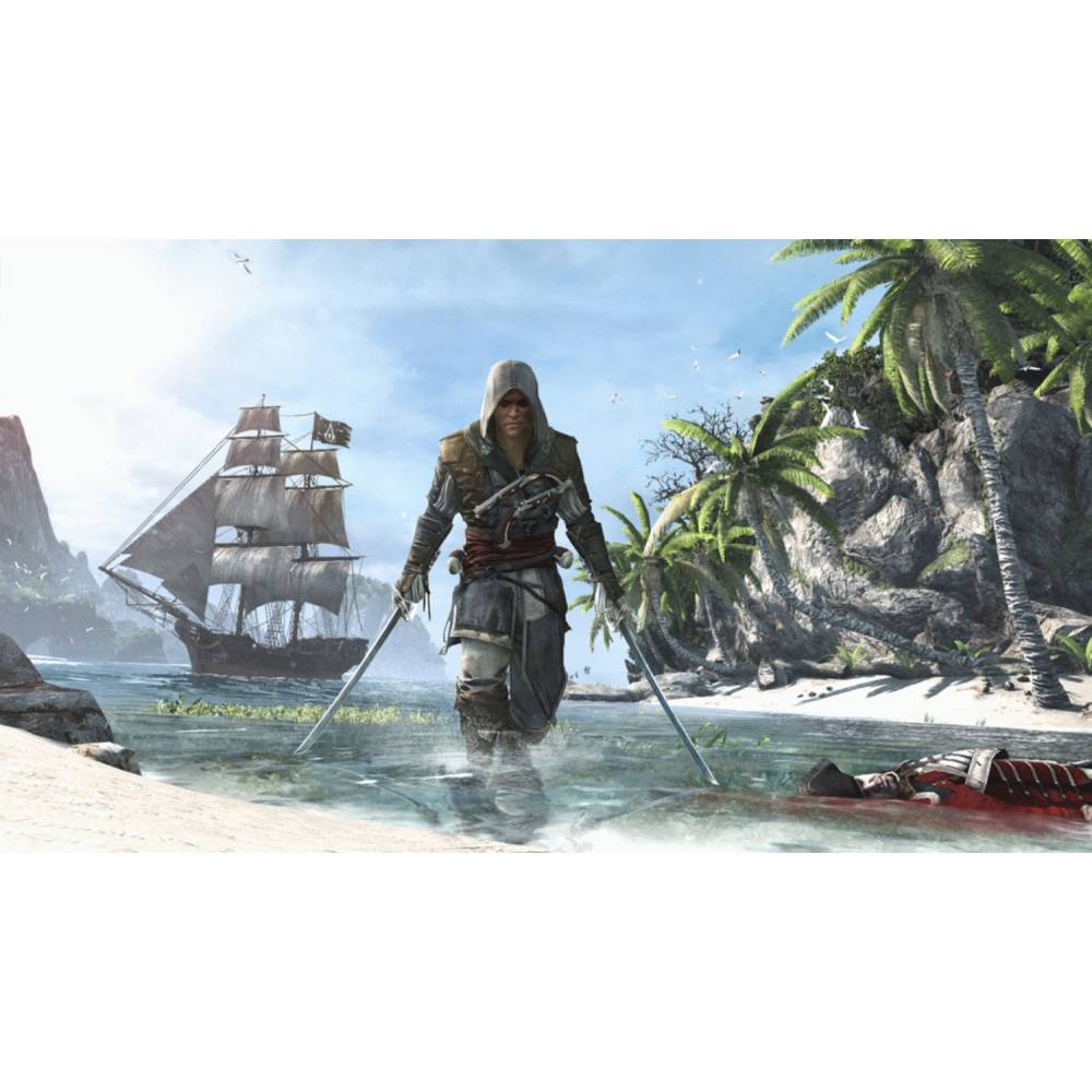 Assassin's Creed IV: Black Flag (Assassin's Creed IV: Чорний Прапор) (PS4/PS5) (Російська озвучка) (Assassin's Creed IV: Black Flag (PS4/PS5) (RU)) фото 3