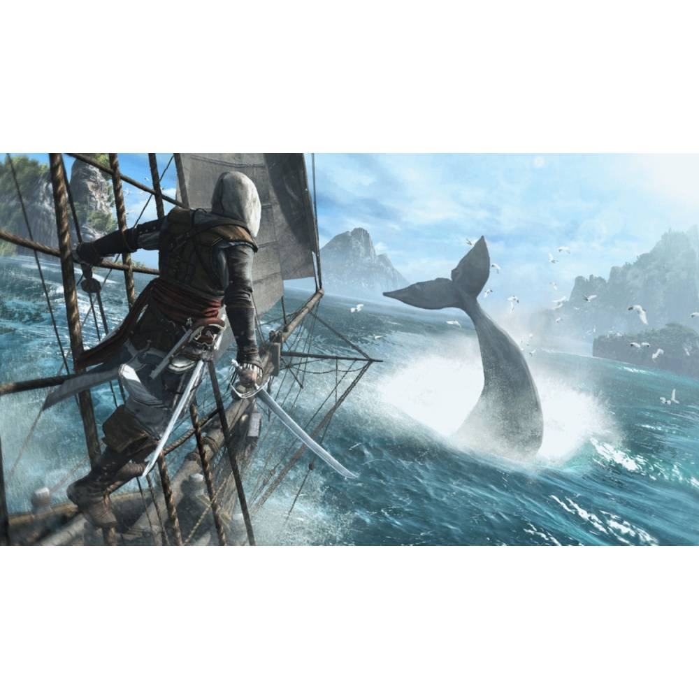 Assassin's Creed IV: Black Flag (Assassin's Creed IV: Чорний Прапор) (PS4/PS5) (Російська озвучка) (Assassin's Creed IV: Black Flag (PS4/PS5) (RU)) фото 4