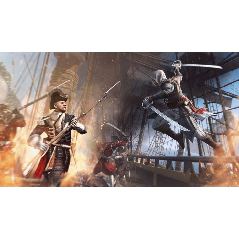 Assassin's Creed IV: Black Flag (Assassin's Creed IV: Чорний Прапор) (PS4/PS5) (Російська озвучка) (Assassin's Creed IV: Black Flag (PS4/PS5) (RU)) фото 5