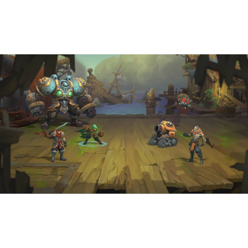 Battle Chasers: Nightwar (PS4/PS5) (Русская озвучка) (Battle Chasers: Nightwar (PS4/PS5) (RU)) фото 6