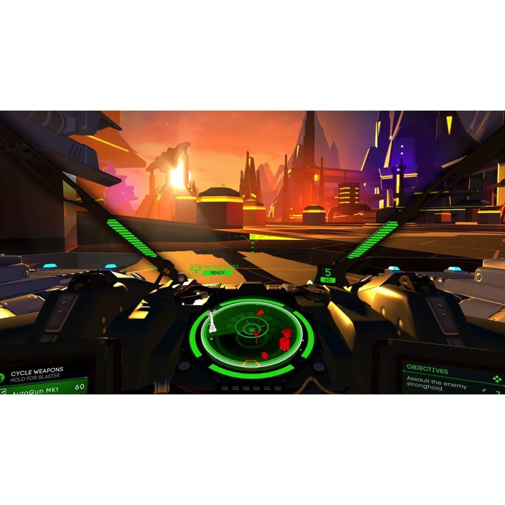 Battlezone VR (PS4/PS5) (Русские субтитры) (Battlezone VR (PS4/PS5) (RU)) фото 6