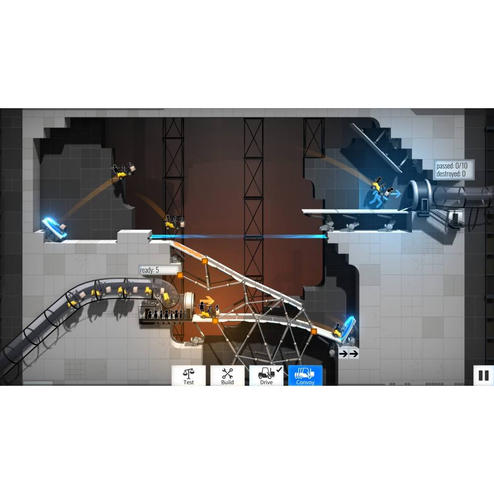 Bridge Constructor Compilation (PS4/PS5) (Русские субтитры) (Bridge Constructor Compilation (PS4/PS5) (RU)) фото 6