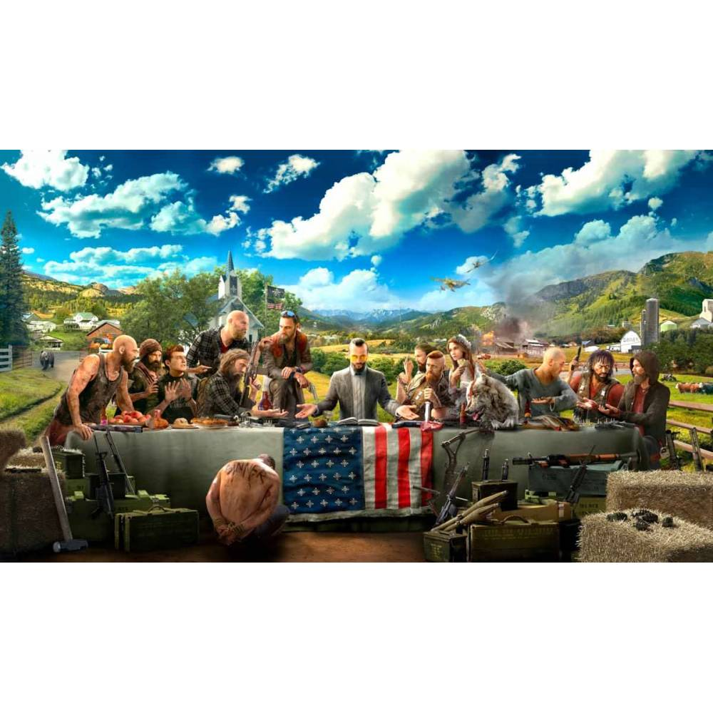 Far Cry 4 + Far Cry 5 (PS4) (Російська версія) (Far Cry 4 + Far Cry 5 (PS4) (RU)) фото 3