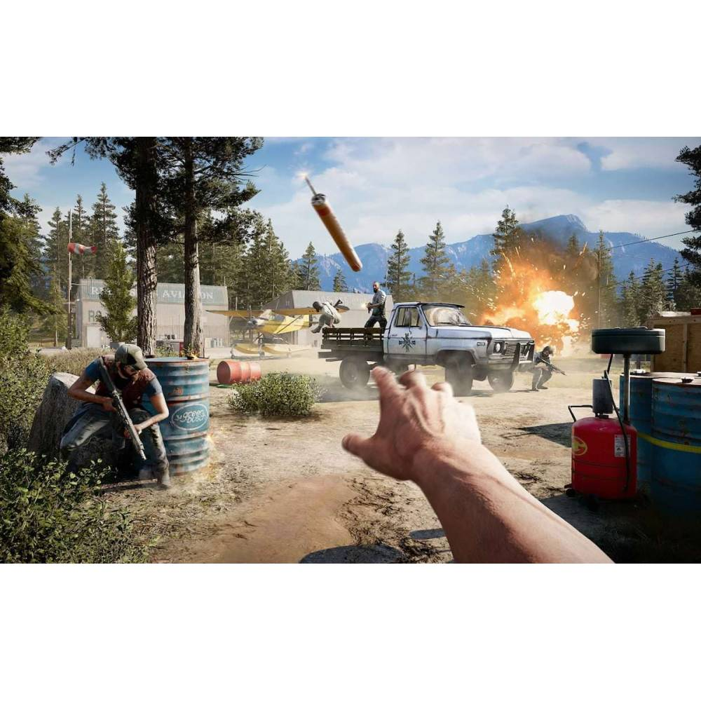 Far Cry 4 + Far Cry 5 (PS4) (Російська версія) (Far Cry 4 + Far Cry 5 (PS4) (RU)) фото 4