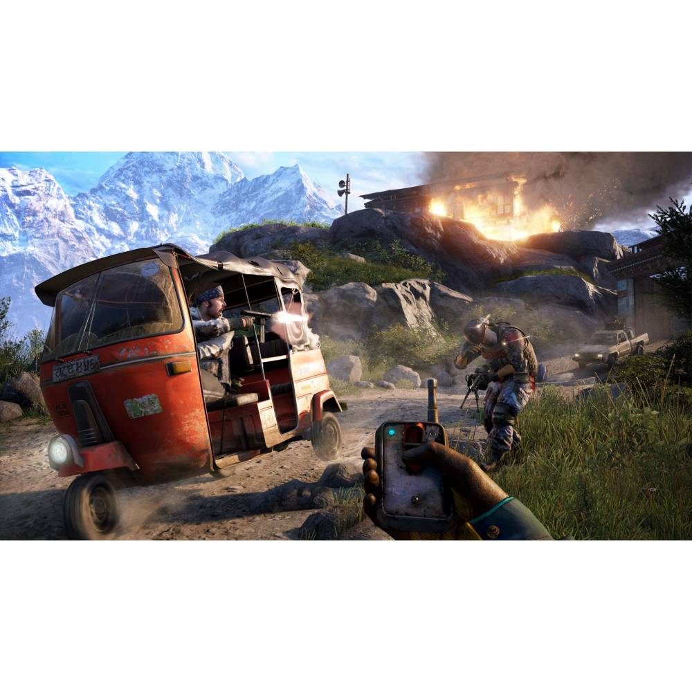 Far Cry 4 + Far Cry 5 (PS4) (Російська версія) (Far Cry 4 + Far Cry 5 (PS4) (RU)) фото 5