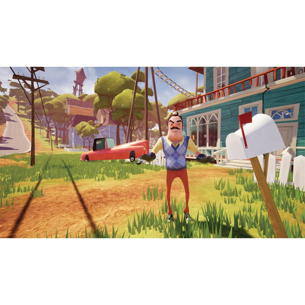 Hello Neighbor (PS4) (Русская версия) (Hello Neighbor (PS4) (RU)) фото 3