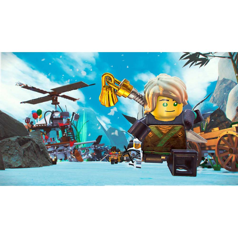 LEGO Ninjago Movie Video Game (LEGO Ниндзяго: Игра по фильму) (PS4) (Русская версия) (LEGO Ninjago Movie Video Game (PS4) (RU)) фото 5