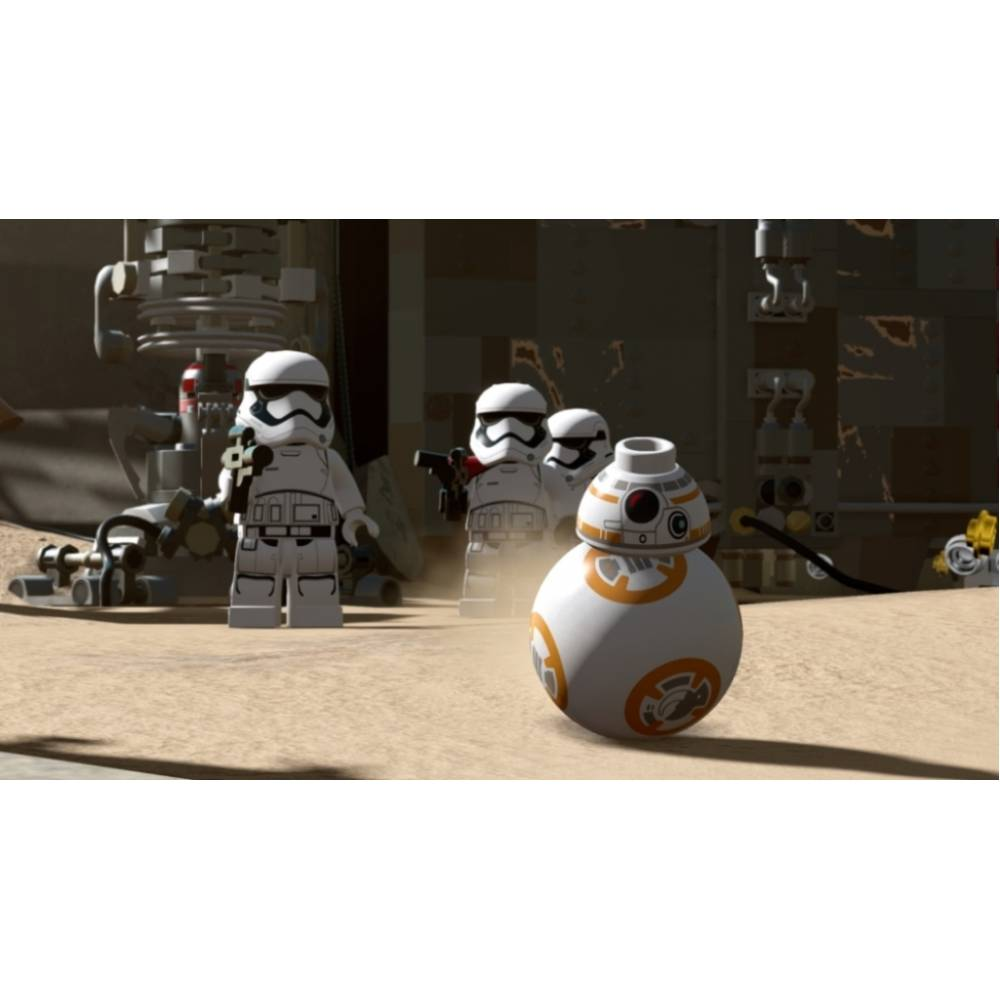 LEGO Star Wars: The Force Awakens (LEGO Star Wars: Пробудження сили) (PS4) (Російська версія) (LEGO Star Wars: The Force Awakens (PS4) (RU)) фото 4