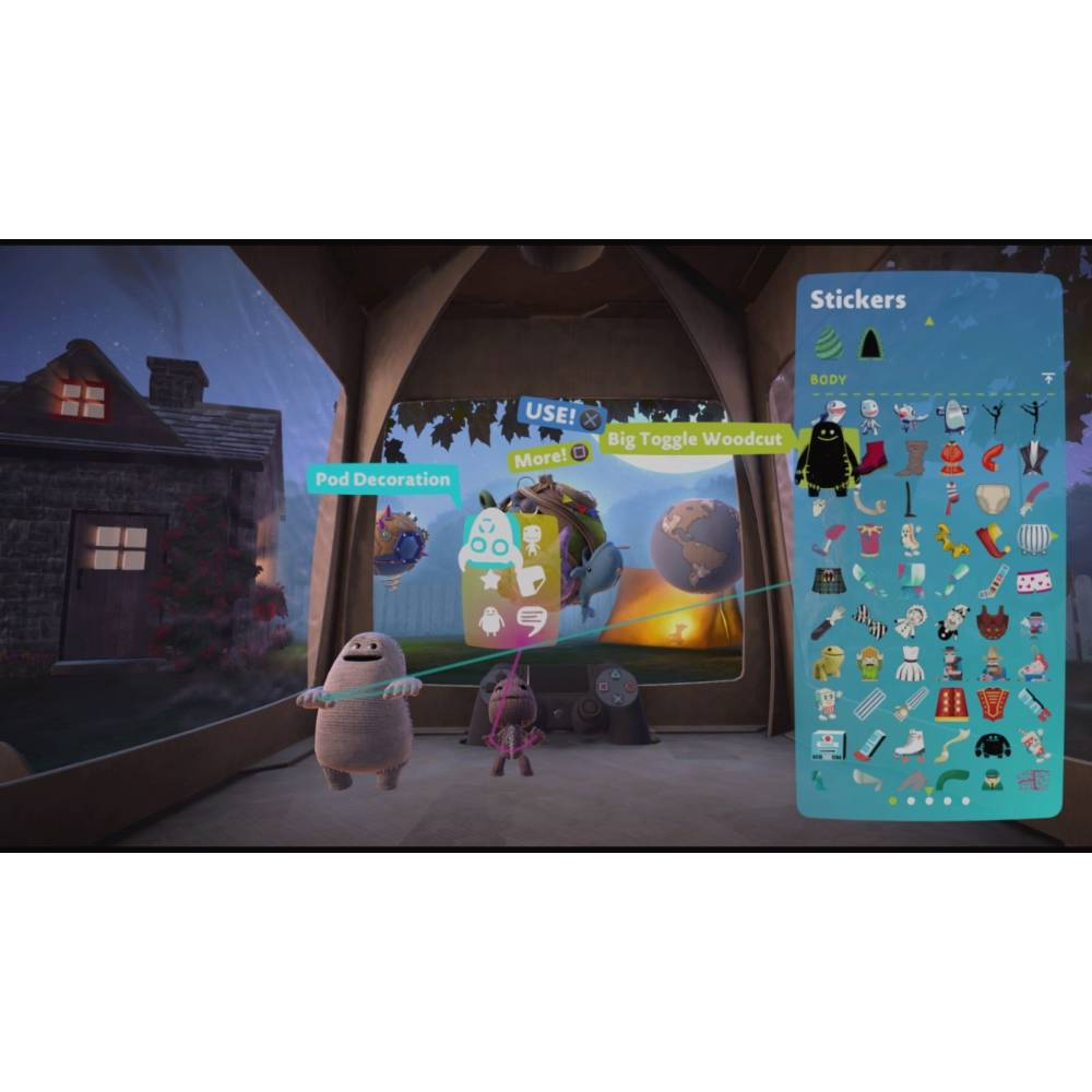 LittleBigPlanet 3 (PS4) (Російська версія) (LittleBigPlanet 3 (PS4) (RU)) фото 4