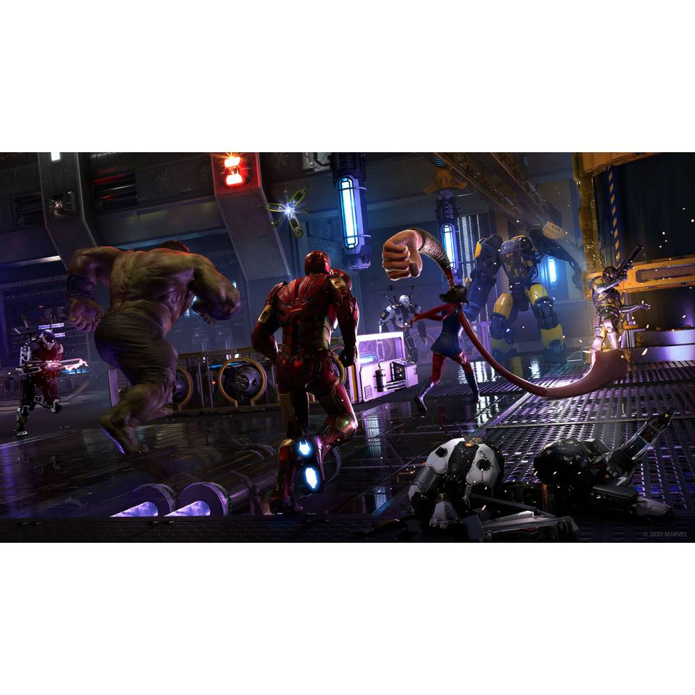 Marvel's Avengers (PS4/PS5) (Русская озвучка) (Marvel's Avengers (PS4/PS5) (RU)) фото 5