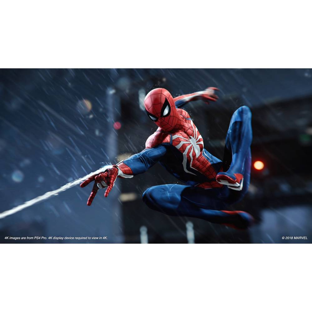 Marvel's Spider-Man (Marvel Человек-Паук) (PS4/PS5) (Русская озвучка) (Marvel's Spider-Man (PS4/PS5) (RU)) фото 3