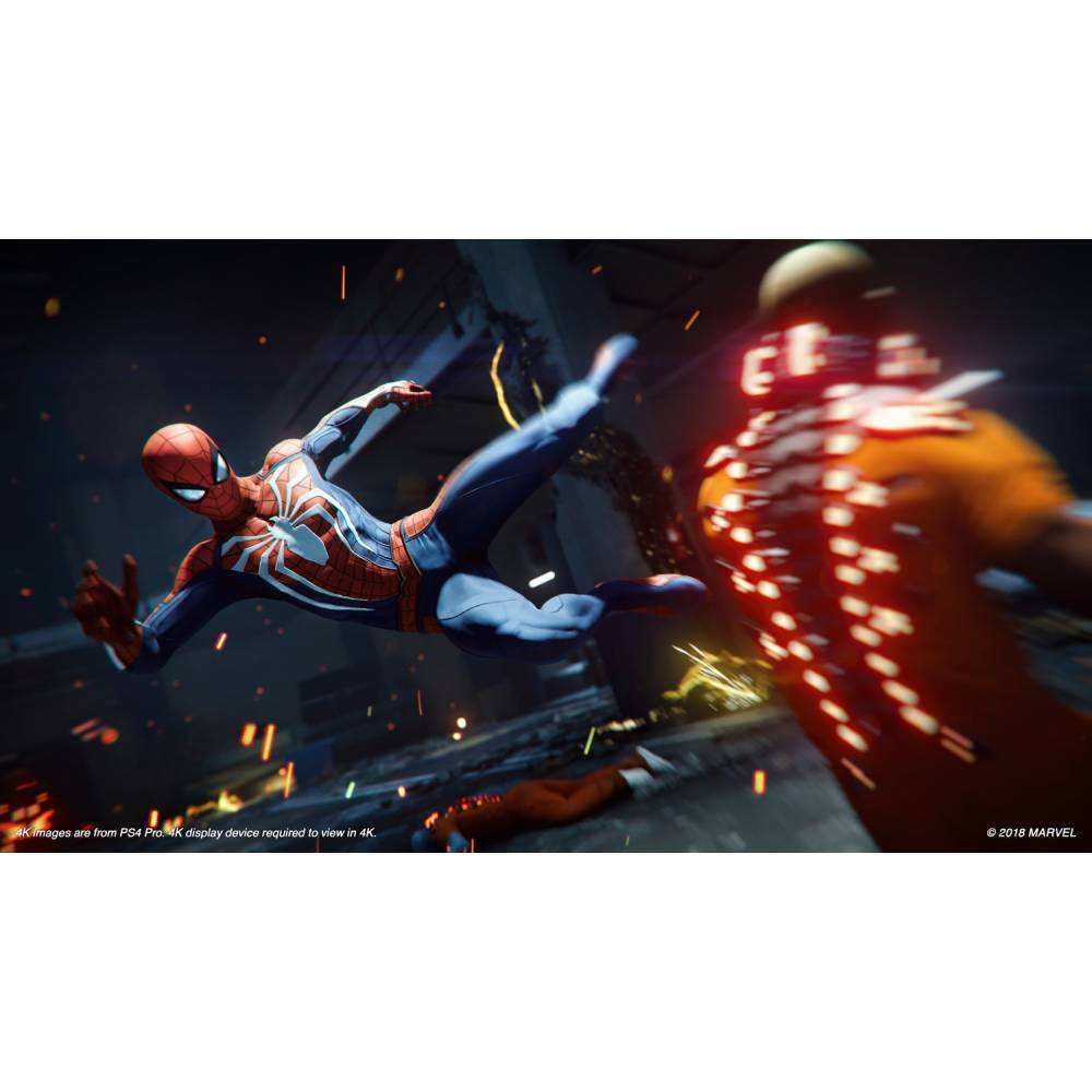Marvel's Spider-Man (Marvel Человек-Паук) (PS4/PS5) (Русская озвучка) (Marvel's Spider-Man (PS4/PS5) (RU)) фото 4