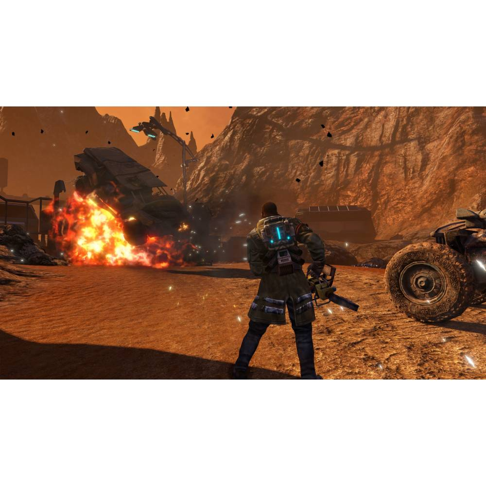 Red Faction Guerrilla: Re-Mars-tered Edition (PS4/PS5) (Російська озвучка) (Red Faction Guerrilla: Re-Mars-tered Edition (PS4/PS5) (RU)) фото 3