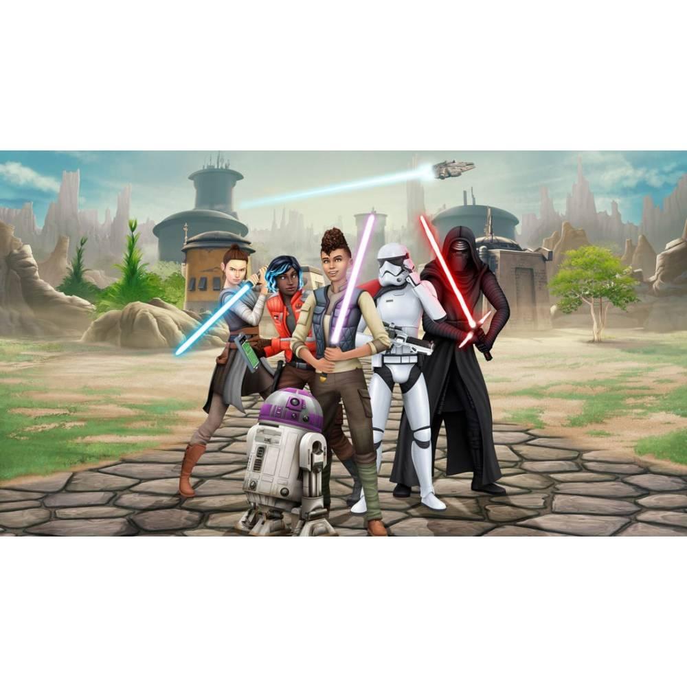 The Sims 4 + Star Wars: Journey to Batuu Bundle (PS4/PS5) (Російські субтитри) (The Sims 4 + Star Wars: Journey to Batuu Bundle (PS4/PS5) (RU)) фото 3