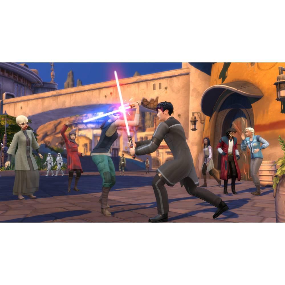 The Sims 4 + Star Wars: Journey to Batuu Bundle (PS4/PS5) (Російські субтитри) (The Sims 4 + Star Wars: Journey to Batuu Bundle (PS4/PS5) (RU)) фото 4