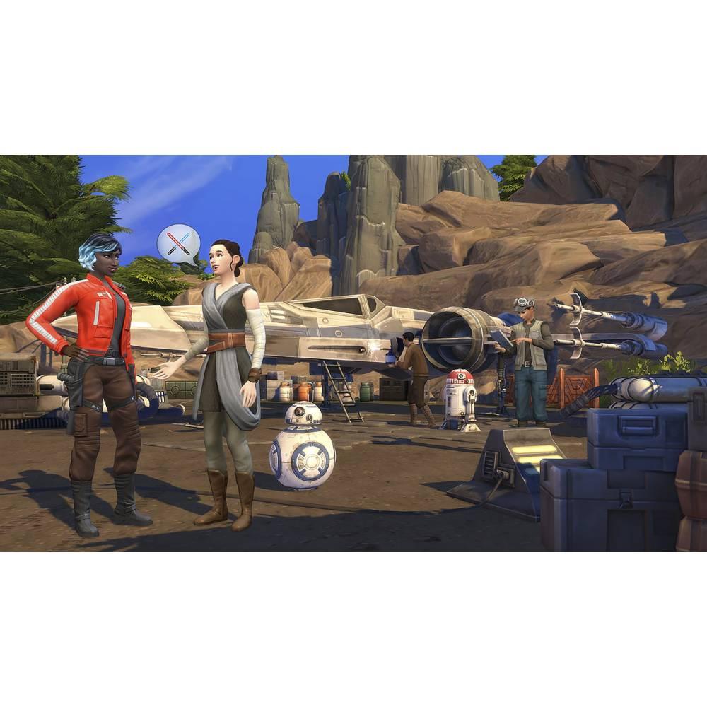 The Sims 4 + Star Wars: Journey to Batuu Bundle (PS4/PS5) (Російські субтитри) (The Sims 4 + Star Wars: Journey to Batuu Bundle (PS4/PS5) (RU)) фото 6