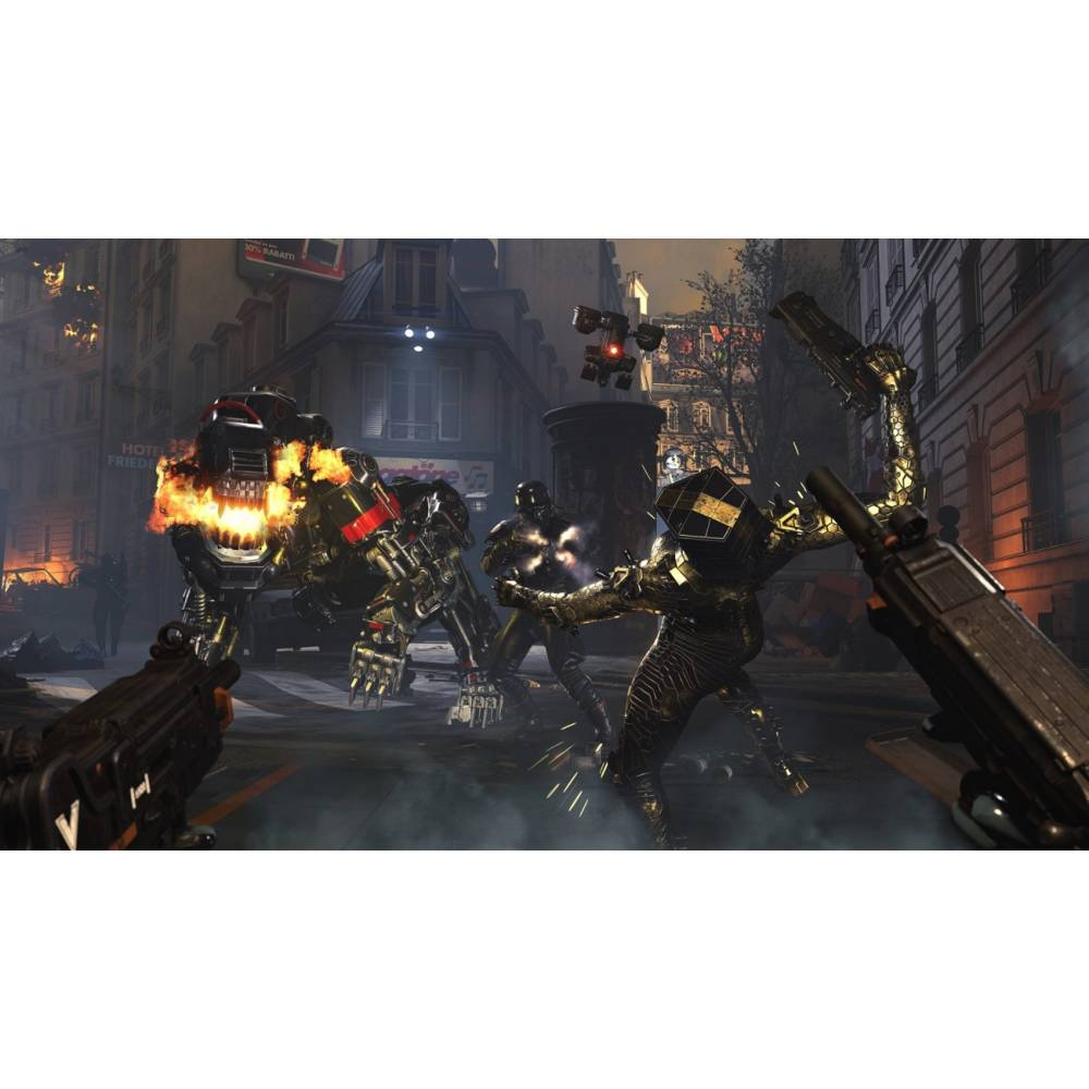 Wolfenstein: Youngblood Deluxe Edition (PS4/PS5) (Русская озвучка) (Wolfenstein: Youngblood Deluxe Edition (PS4/PS5) (RU)) фото 3