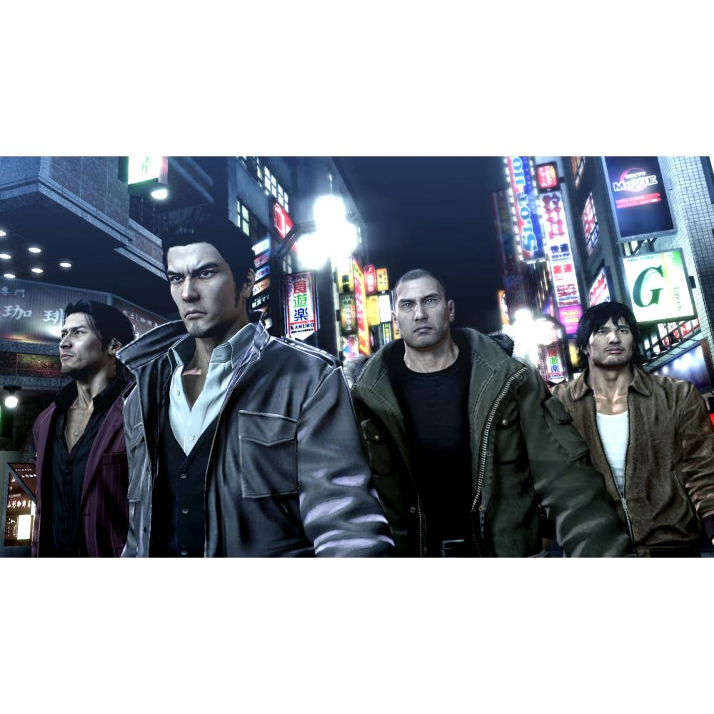The Yakuza Remastered Collection (PS4/PS5) (Английская версия) (The Yakuza Remastered Collection (PS4/PS5) (EN)) фото 6