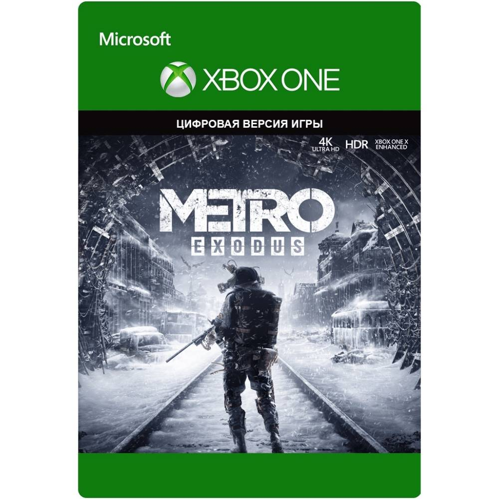 Metro Exodus (Metro Вихід) (XBOX ONE/SERIES) (Цифрова версія) (Російська версія) (Metro Exodus (XBOX ONE/SERIES) (DIGITAL) (RU)) фото 2