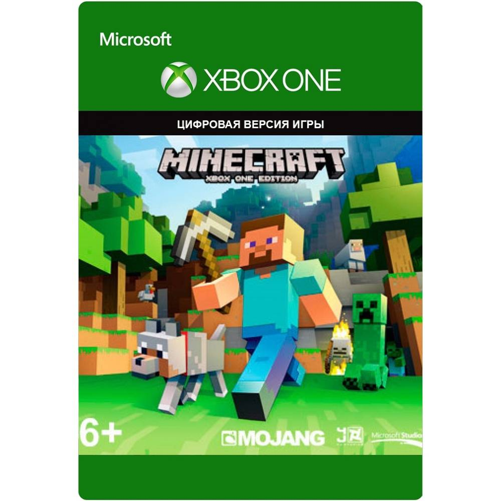 Minecraft (XBOX ONE) (Цифровая версия) (Русская версия) (Minecraft (XBOX ONE) (DIGITAL) (RU)) фото 2