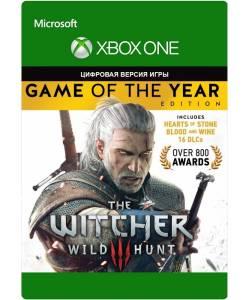 """The Witcher 3: Wild Hunt. Game of the Year Edition (Відьмак 3: Дике Полювання. Видання """"Гра Року"""") (XBOX ONE/SERIES) (Цифрова версія) (Російська озвучка)"""