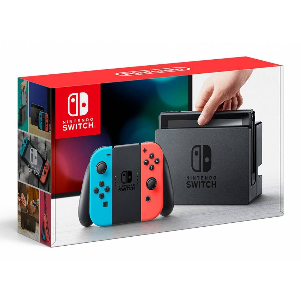 Nintendo Switch (Red/Blue) (Nintendo Switch (Red/Blue)) фото 2