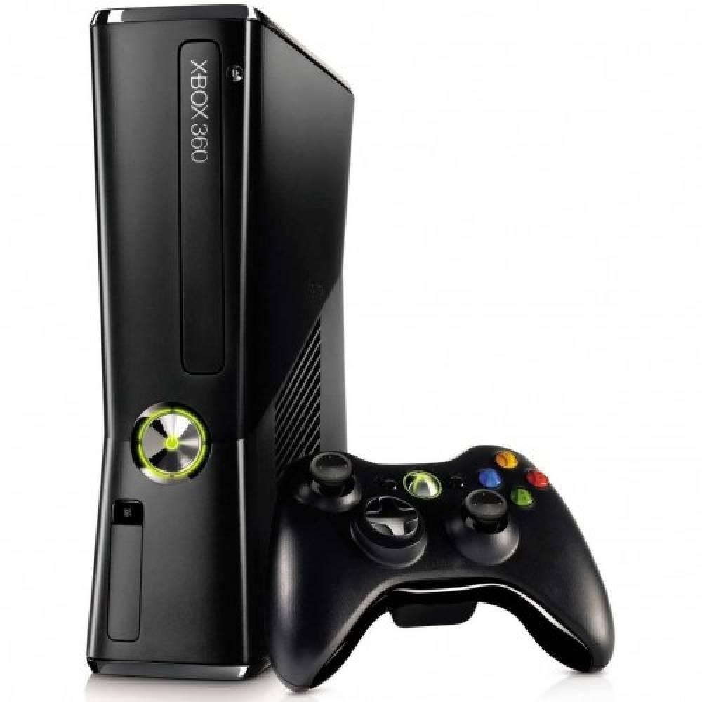 Б/у Microsoft Xbox 360 Slim 250Gb + 35 игр (Freeboot) (Used Microsoft Xbox 360 Slim 250Gb + 35 games (Freeboot)) фото 2
